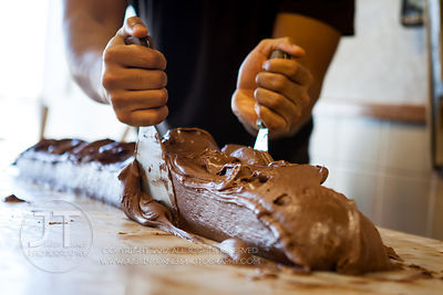 Rocky Mountain Chocolate Factory Fudge Making, November 28, 2012