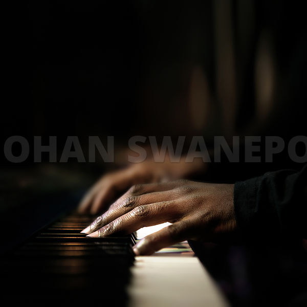 Pianist Hands playing piano close-up