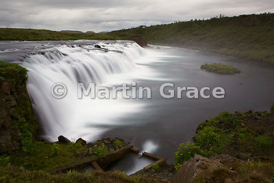 Faxa waterfall on the Tungufljot River, south-west Iceland