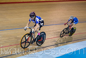 Junior Women Sprint 3-4 Final. Canadian Track Championships (U17/Junior/Para), April 1, 2017