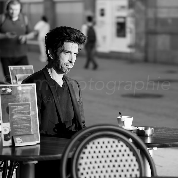 Street Photo - Have a coffee break