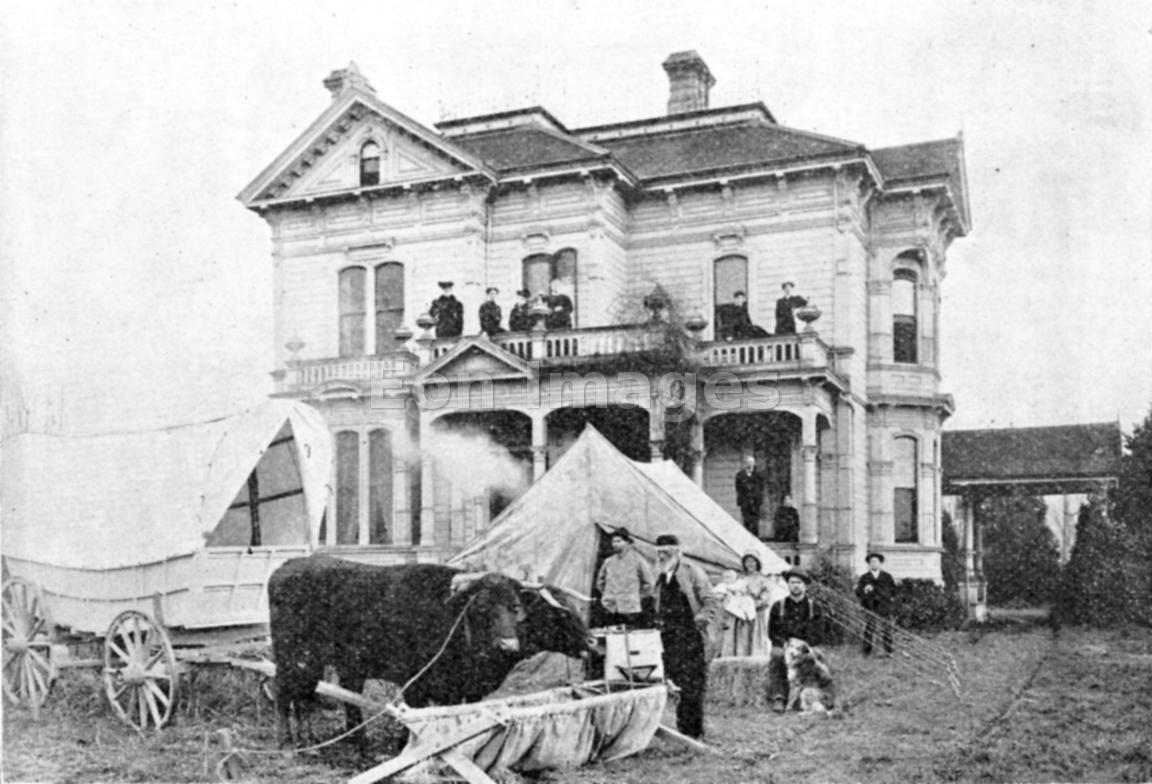 Meeker homestead in Puyullup, Washington