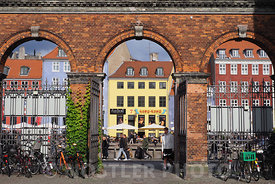 The gate to Nyhavn