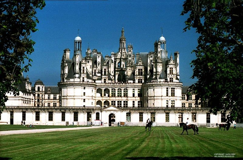 France, Chateau Chamburg