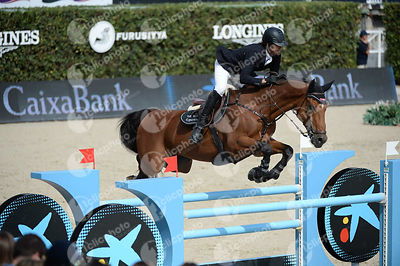 Karim ELZOGHBY ,(EGY), ZARCO during Caixa Bank Trophy competition at CSIO5* Barcelona at Real Club de Polo, Barcelona - Spain