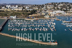 Aerial Photography Taken In and Around Torquay-Torquay Harbour