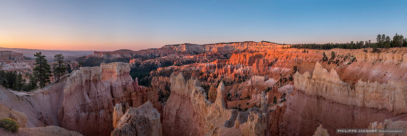 Sunset in Brice Canyon - Utah