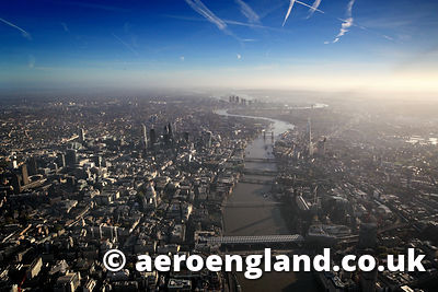 London aerial photo of London Englands