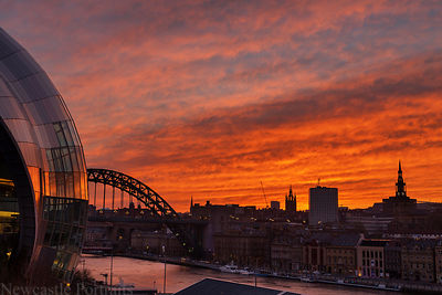 Geordie Sunset (2)