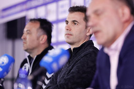 Raul Gonzales during the Final Tournament - Final Four - SEHA - Gazprom league, Press conference in Brest, Belarus, 06.04.2017, Mandatory Credit ©SEHA/ Uros Hočevar