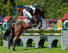 The Quantum Saddles Eventing Grand Prix at Hickstead.