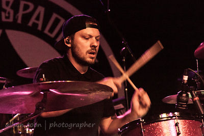 Matt Parkitny, drums, Hands Like Houses