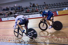 Master B Men Sprint 1-2 Final. 2017 Canadian Track Championships, September 29, 2017