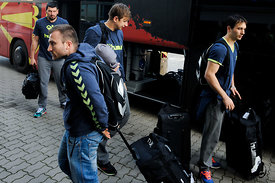 SEHA Final Four - Vardar team arrival