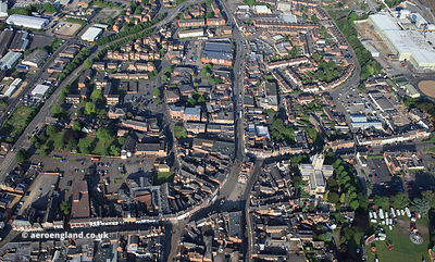 Melton Mowbray from the air