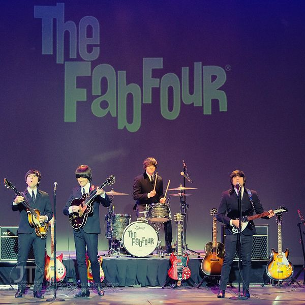 Hoopla - The Fab Four, Englert Theatre, March 6, 2015 photos