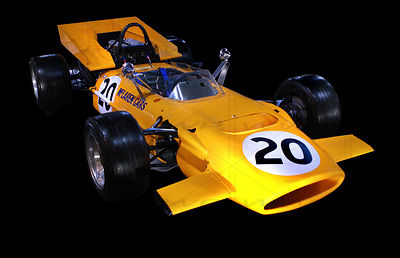 Mac Laren F1 - M 9 A Race car 1969 Art Photographs