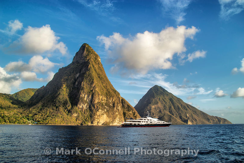 Attessa 4 at the Pitons in St Lucia