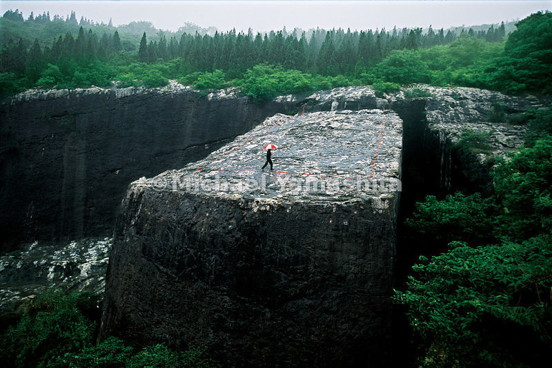 This 31,000-ton stone monument, commissioned by Emperor Zhu Dhi to honor his father, never stood and still lies where it was cut, as no one, not even the overly ambitious emperor was able to move it.