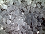 SUGAR: extreme close-up of sugar #1