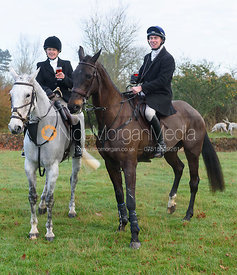 at the Cottesmore Hunt meet at Burrough House 17/12