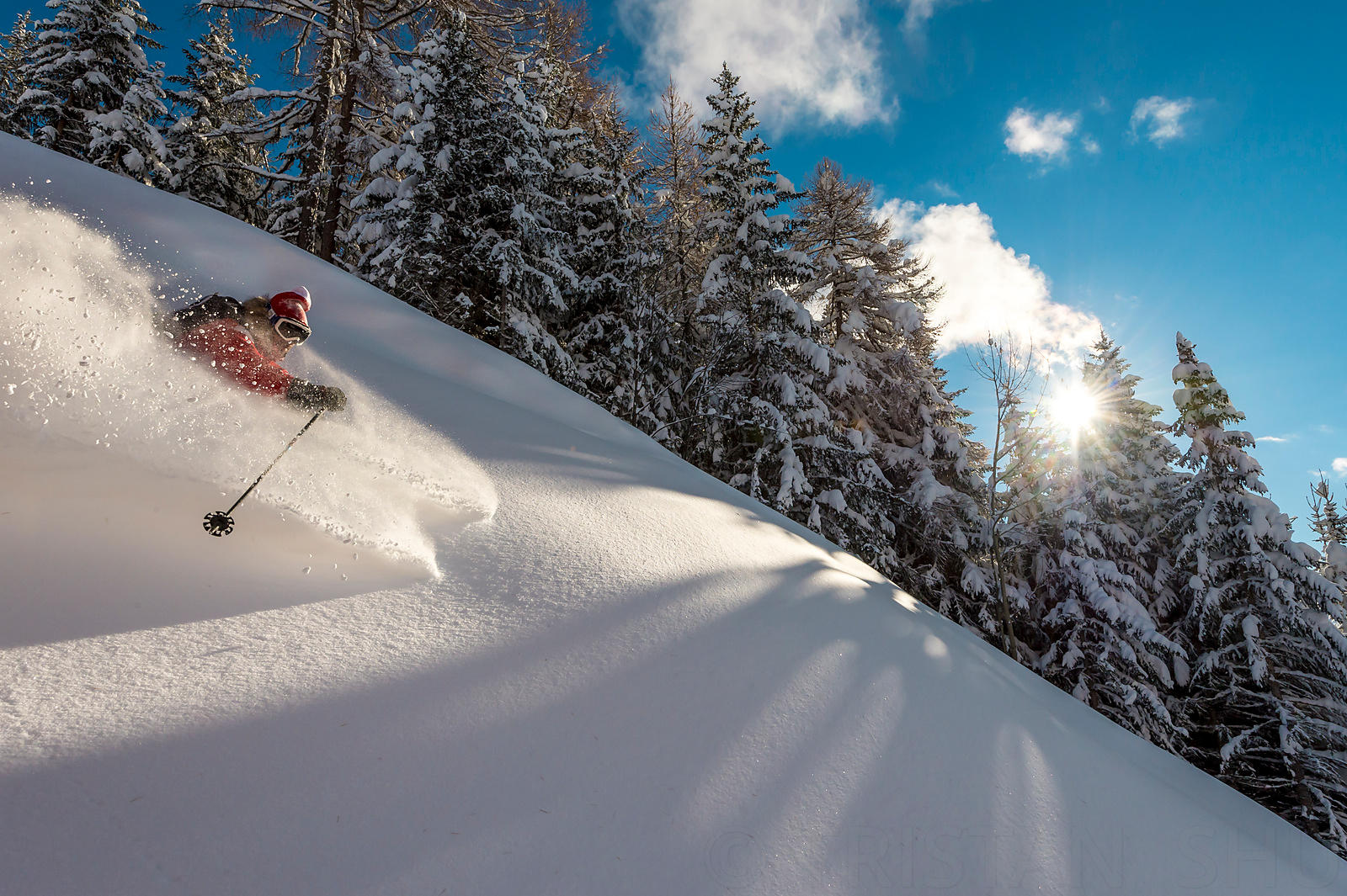 Riding Pow with Adrien Coirier