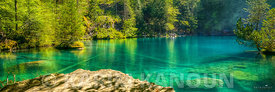 Panorama - Blausee crystal water - Bern