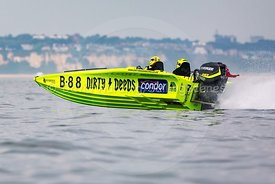 Dirty Deeds, B88, Fortitudo Poole Bay 100 Offshore Powerboat Race, June 2018, 20180610236