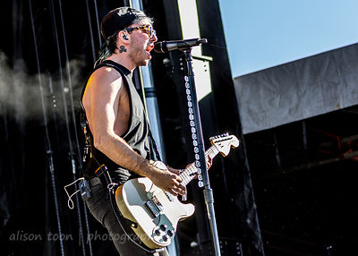 Alex Gaskarth, vocals and guitar, All Time Low