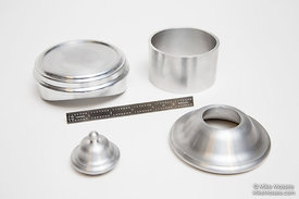 CNC Aluminum Sand Dome Parts