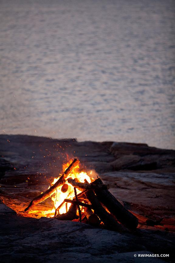 BONE FIRE LAKE CHAMPLAIN VERGENNES VERMONT