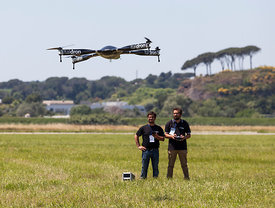 Roma Drone held at the Urbe airport