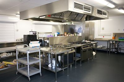 Commercial Kitchen in Day Centre