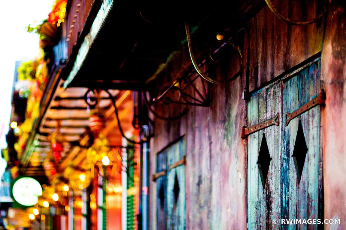 PRESERVATION HALL FRENCH QUARTER NEW ORLEANS COLOR