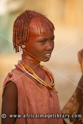 Hamer girl, Turmi, South Omo Valley, Ethiopia