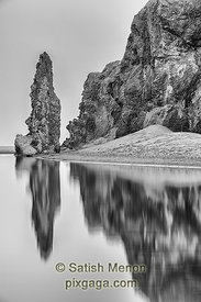 Sea Stacks and Reflection, Bandon, Oregon, USA