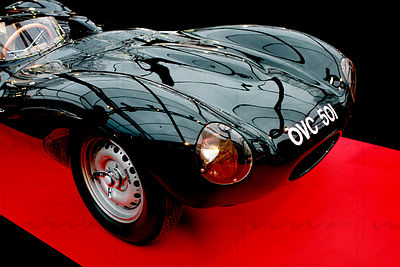Jaguar D-Type OVC 501 -1954 Art Photographs