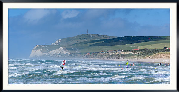 Windsurf  Session Wissant 11-07-2016 ©  Olivier Caenen, tous droits reserves