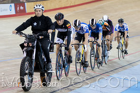 Men Keirin 1-6 Final. Canadian Track Championships, Mattamy National Cycling Centre, Milton, On, September 26, 2016