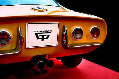 Opel Experimental GT 1965 Art Photographs
