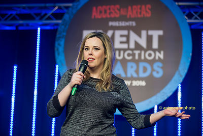 Roisin Conaty at Event Production Awards