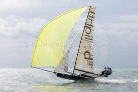 Be Light, HUN 18, 18ft Skiff, Euro Grand Prix Sandbanks 2016, 20160904590