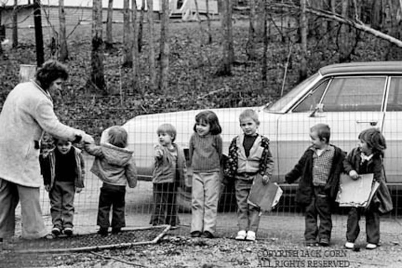 White Oak, first child care 1970
