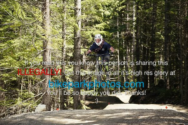 Tuesday June 26th - C'More bike park photos