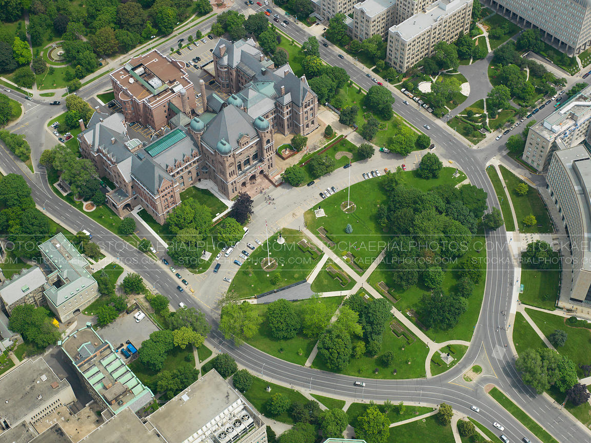 Aerial photo queens park toronto ontario for Garden design queens park