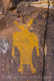 Elegant Fremont Culture Pictograph in Nine Mile Canyon