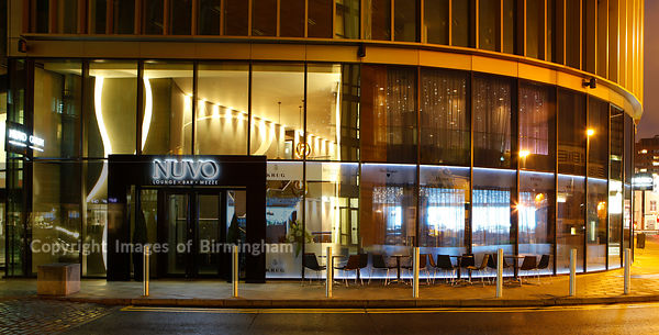 Nuvo, Lounge, Bar, Mezze. Bar in Brindleyplace, Westside, Birmingham city centre, West Midlands, England