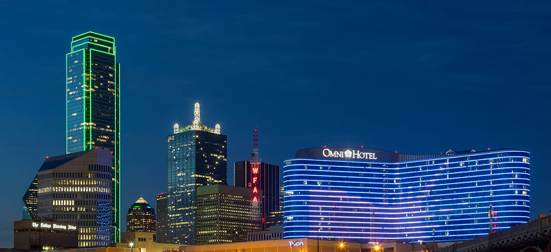 Omni Hotel and Bank of America