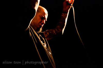 Phil Anselmo of Philip H Anselmo and the Illegals live 2014