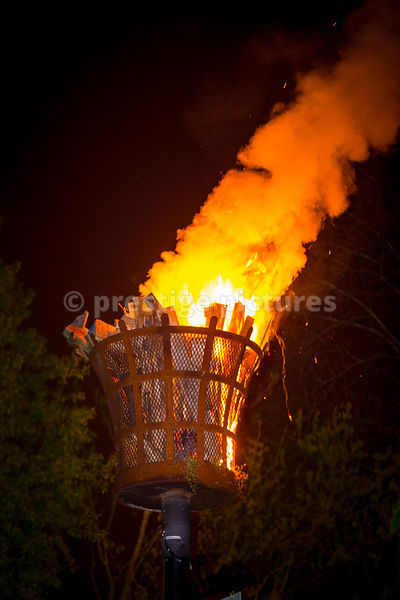 VE Day 70th Anniversary Beacon in Banbury Oxfordshire